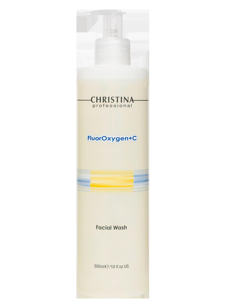 Флюроксиджен Очищающий гель для умывания FluorOxygen+C Facial Wash, 300 мл