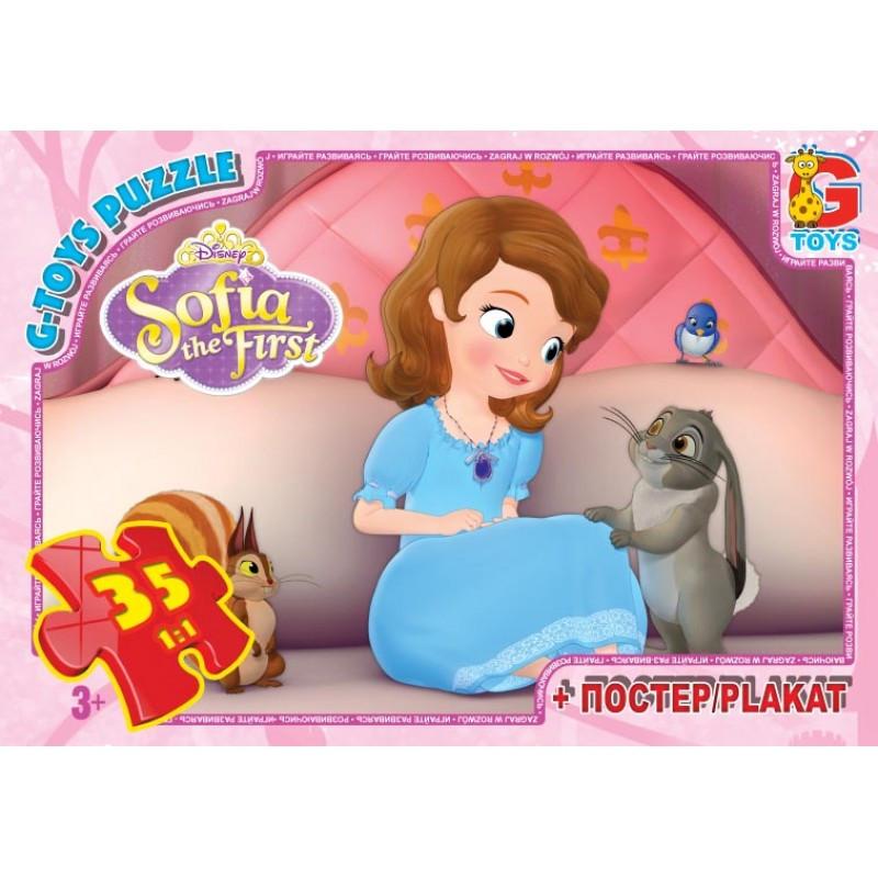"""Пазли ТМ """"G-Toys"""" SF008 із серії """"Софія прекрасна"""", 35 елементи"""