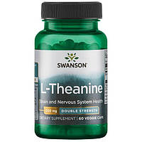 Swanson Ultra Double Potency Suntheanine L-Theanine 200 мг 60 капс