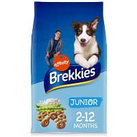 Brekkies Junior Chicken and Rice 20кг-корм  для щенков с курицей и рисом