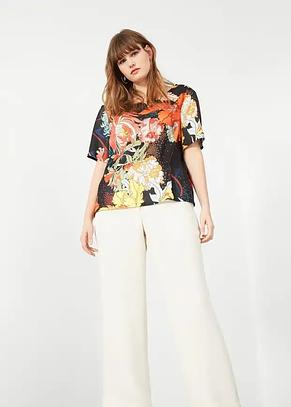 Блуза женская MANGO размер XL шелковая, фото 2