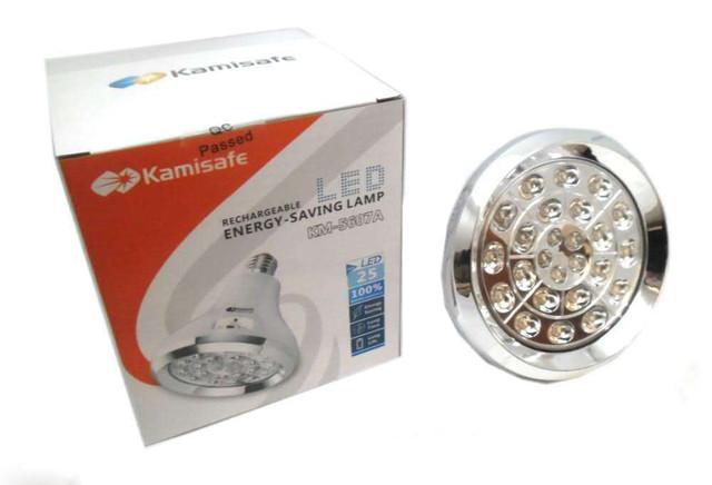 ХИТ ПРОДАЖ!!! Аккумуляторная лампа Kamisafe KM-5607A 25LED
