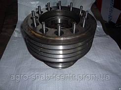 Шкив двигателя СМД-31 (в сборе) 8-ми ручейный 31-04С20
