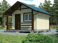 Каркасное строительство домиков под ключ, строительство качественных каркасных дачных домиков