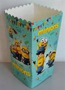 Коробочки для сладостей и попкорна Миньоны   5 штук