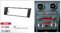 Рамка перехідна Carav 11-007 Audi A3 03-08 1DIN