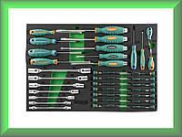 Набор отверток, ударных отверток, отверток для точной механики и карданных ключей, 34 предмета , D737134SV