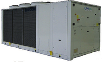 Чиллер воздушного охлаждения EMICON RAH 1802 FU Ka с винтовыми компрессорами и осевыми вентиляторами