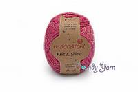Maccaroni Knit & Shine, Малиновый