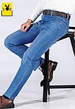 PLAYBOY джинсы мужские плейбой, фото 3