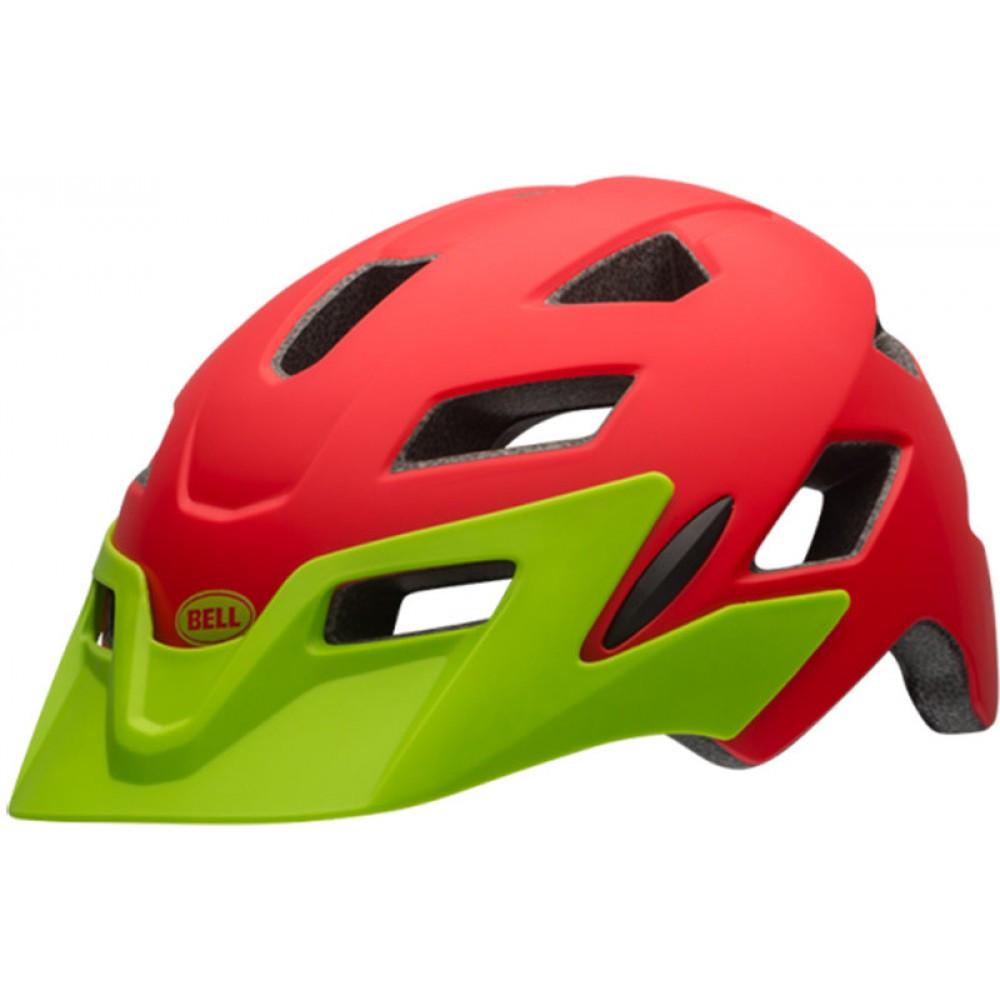 Велошлем детский Bell Sidetrack Child матовый красный, Uni (47-54) (GT)