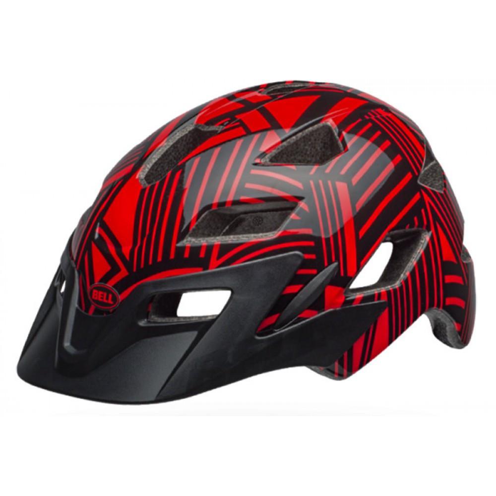 Велошлем детский Bell Sidetrack Child красно-черный, Uni (47-54) (GT)