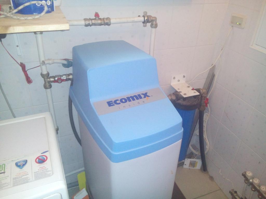 Обязательный ежегодный сервис управляющего клапана. Система Ecomix. Осокорки. 18.05.2015