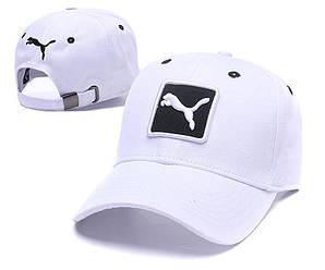 Бейсболка кепка Пума мужская/женская белая (реплика) Сap Puma White