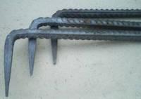 Скоба строительная 8 мм, L=40 см (упаковка 50 шт)