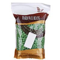 Воск в гранулах HARD WAX BEANS 500 гр Зеленый