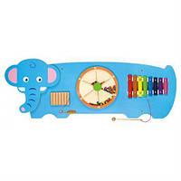 """Бізіборд настінна іграшка Настенная игрушка бизиборд """"Слон"""""""