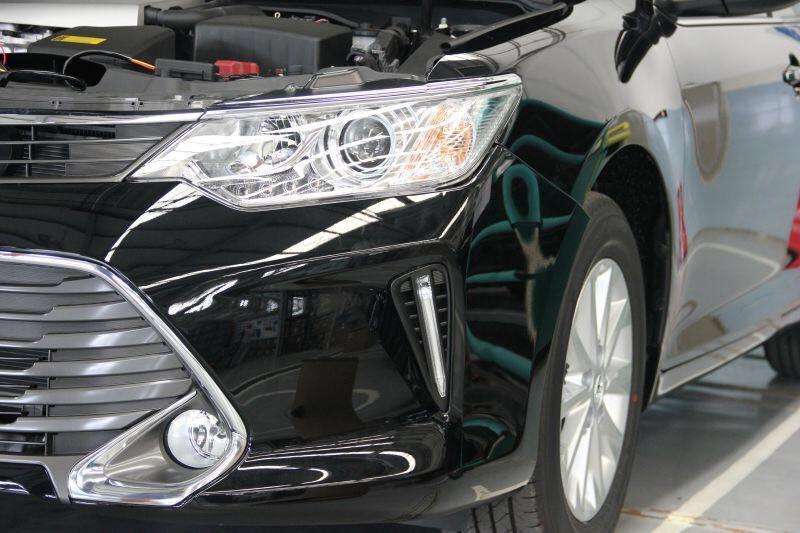 Ходовые огни Toyota Camry 2014+