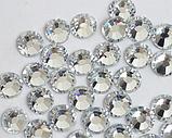 Стразы термоклеевые Premium Crystal SS12 Hot Fix 100 шт., фото 3