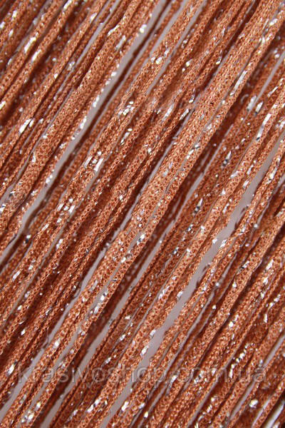 Кисея Дождик № 10 коричневый