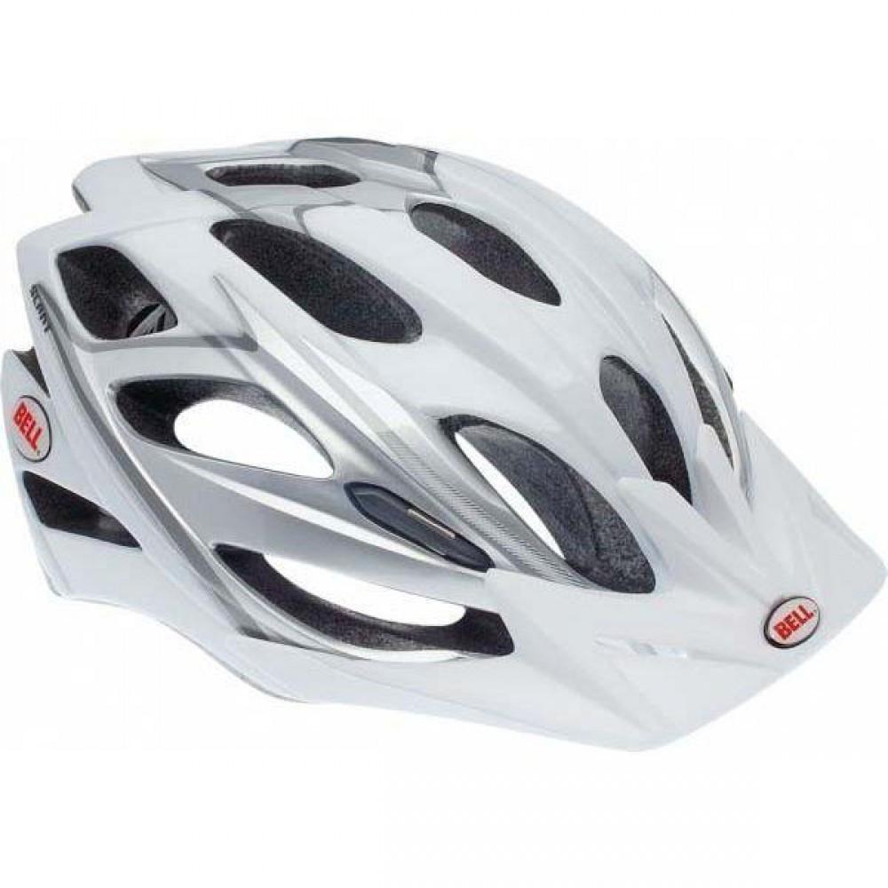 Велошлем Bell Delirium белый/серебристый, S/M (56-58) (GT)