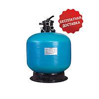 Песочный фильтр Jazzi Pool T650, 16,4 м³/ч, верхнее подключение