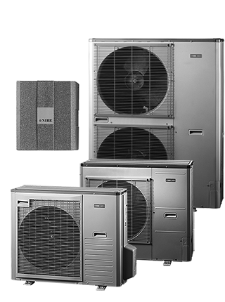 NIBE SPLIT AMS10-16 + NIBE HBS 05-16 — тепловой насос типа воздух/вода