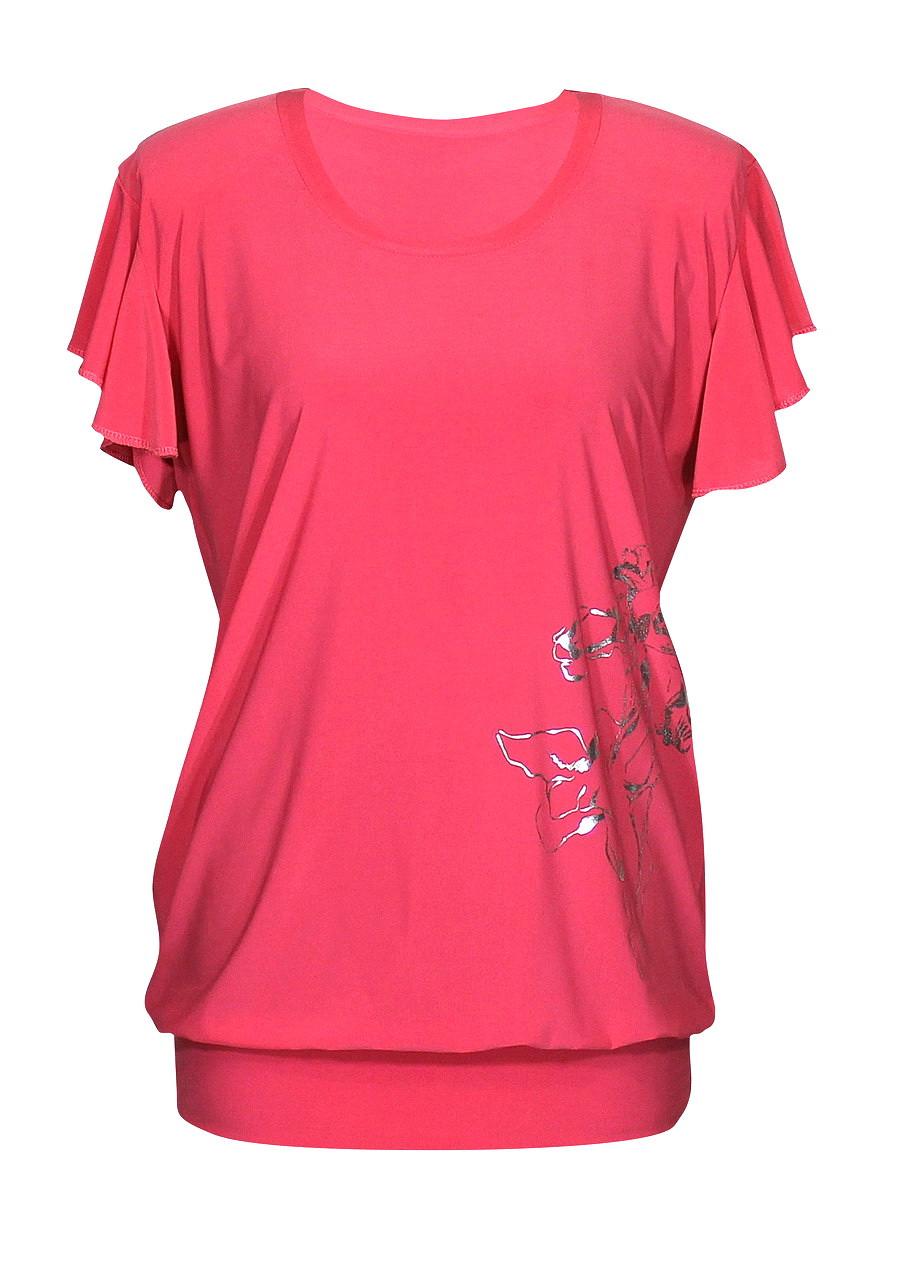Купить Женская удлиненная футболка Ирисы
