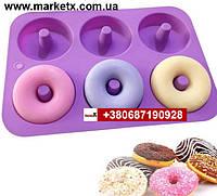 Пищевая силиконовая форма круг