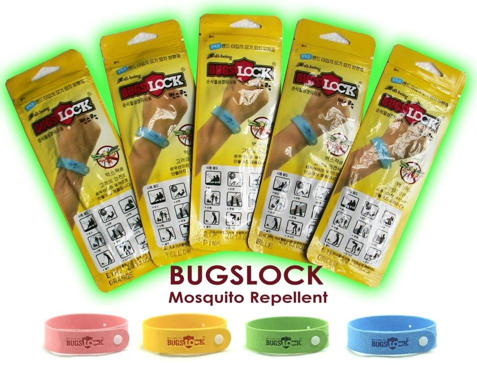 Многоразовый браслет от комаров <<Bugs Lock>>