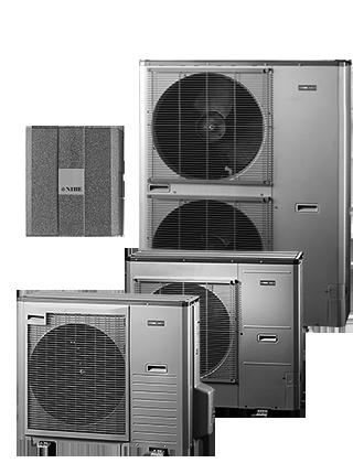 NIBE SPLIT AMS10-8 + NIBE HBS 05-8 — тепловой насос типа воздух/вода