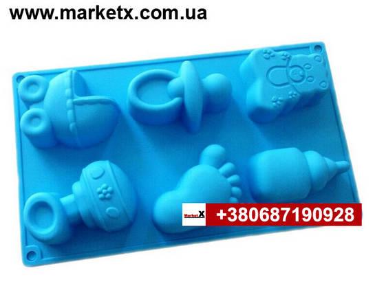 Харчова силіконова форма набір для новонароджених, фото 2