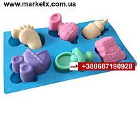 Пищевая силиконовая форма набор для новорожденных