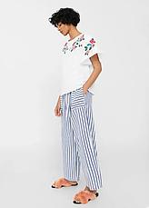 Блуза женская MANGO размер S хлопковый трикотаж, фото 3