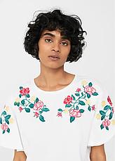 Блуза женская MANGO размер S хлопковый трикотаж, фото 2