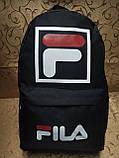 Рюкзак fila новинки спортивный спорт городской стильный Школьный рюкзак Практичный сумка  только оптом, фото 2