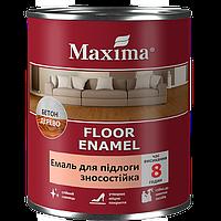 """Эмаль для пола изностойкая """"Floor enamel"""" ТМ """"Maxima"""""""