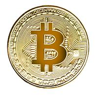 Монета Биткоин Bitcoin коллекционная