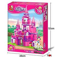 """Детский конструктор Sluban M38-B0152 """"Замок для принцессы"""" 472 детали, фото 1"""