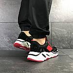 Мужские кроссовки Adidas balance life (черно-красные), фото 4