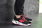 Мужские кроссовки Adidas balance life (черно-красные), фото 6