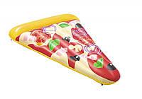 Надувной плотик матрас пицца BestWay, фото 1