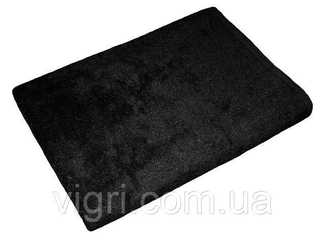 Полотенце махровое Азербайджан, 40х70 см., черное