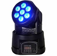 Светодиодный прожектор LED MINI MOVING HEAD , фото 1