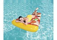 Надувной большой плотик матрас пицца BestWay, фото 1