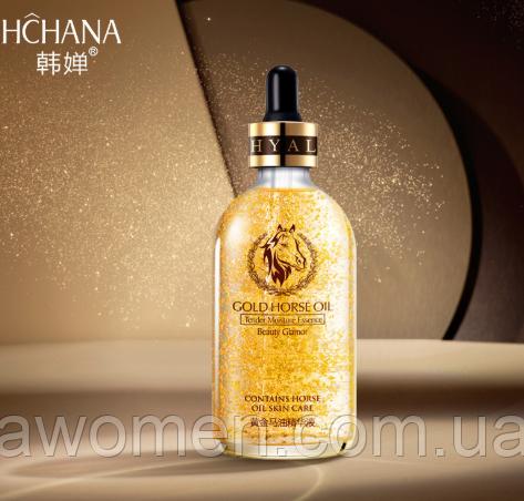 Сироватка Hchana Gold Horse Oil Skin Care 100 ml