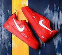 a3503b97 Nike Air Force 1 '07 Lv8 Utility Red   кроссовки женские и мужские; красные