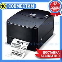Термотрансферный принтер TSC TTP-244 PRO для печати этикеток, штрих кодов, ценников
