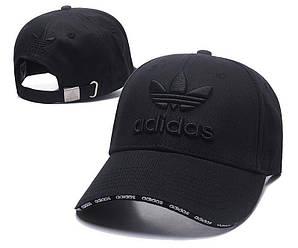 Бейсболка кепка Адидас мужская/женская черная (реплика) Сap Adidas Black