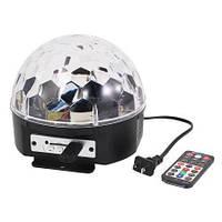 """MP3 диско шар, Magic Bull,Светомузыкальный шар """"Сфера"""""""